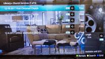 "TV screenshot of ""On Demand"" TV listings."
